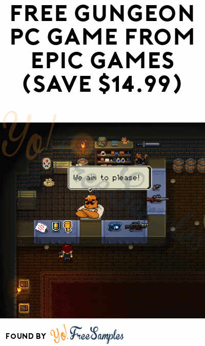 FREE Enter the Gungeon PC Game from Epic Games (Save $14.99)