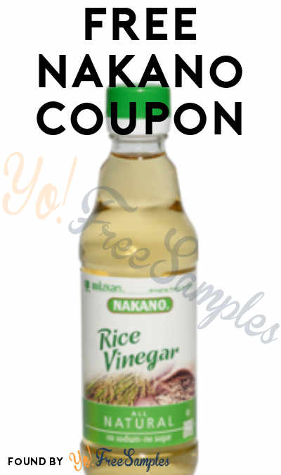 FREE Nakano Coupon Product From Viewpoints (Must Apply)