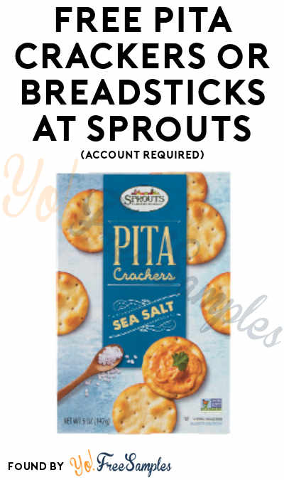 FREE Pita Crackers or Breadsticks At Sprouts (Account Required)