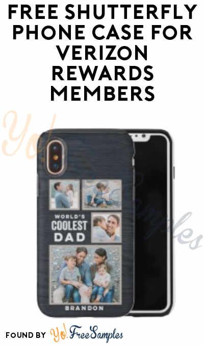 FREE Shutterfly Phone Case For Verizon Rewards Members