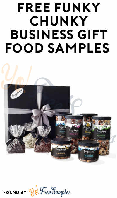 FREE Funky Chunky Business Gift Food Samples (Company Name Required)