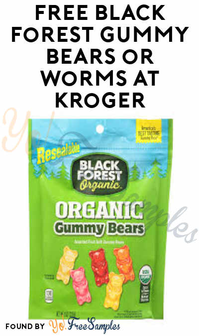Today 6/22 Only! FREE Black Forest Gummy Bears or Worms at Kroger (Account & Ibotta Required)