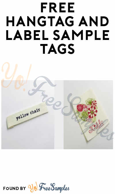 FREE HangTag and Label Sample Tags