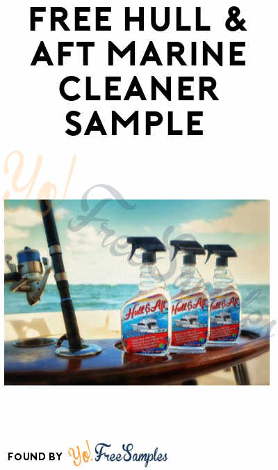FREE Hull & Aft Marine Cleaner Sample