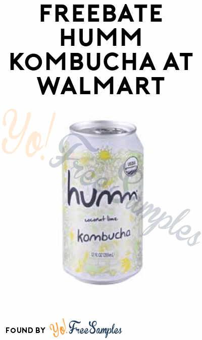 FREEBATE Humm Kombucha at Walmart (Ibotta Required)