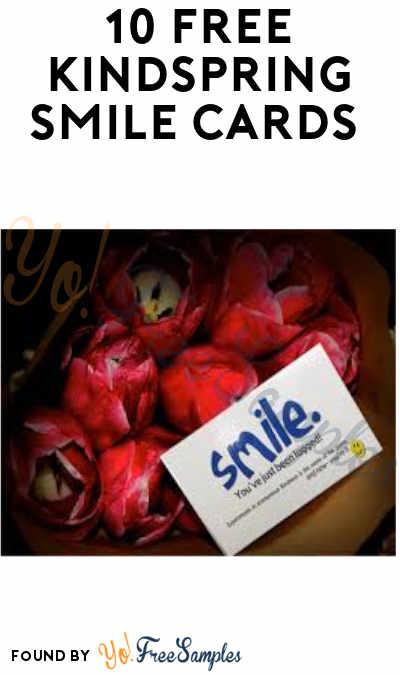 10 FREE KindSpring Smile Cards