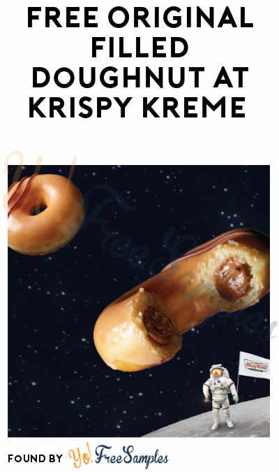 TODAY! FREE Original Filled Doughnut at Krispy Kreme (June 22)