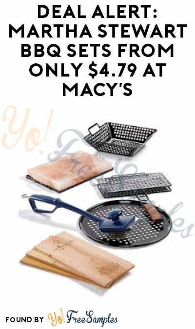 DEAL ALERT: Great Father's Day Gift, Martha Stewart BBQ Sets From Only $4.79 at Macy's