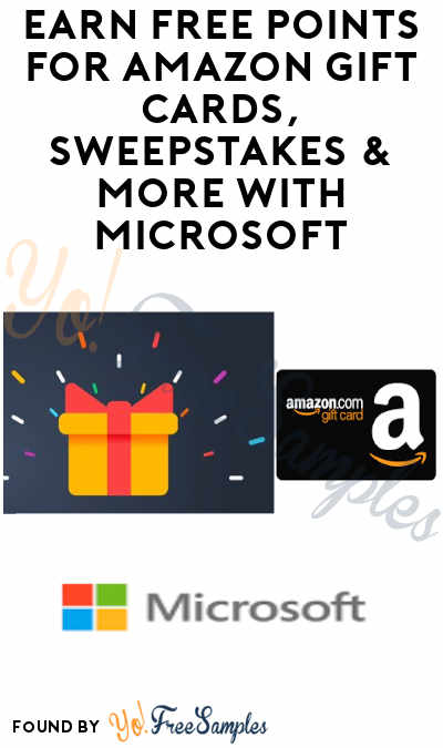 Earn FREE Points for Amazon Gift Cards, Sweepstakes & More
