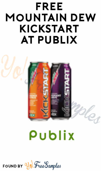 FREE Mountain Dew Kickstart at Publix (Account Required)
