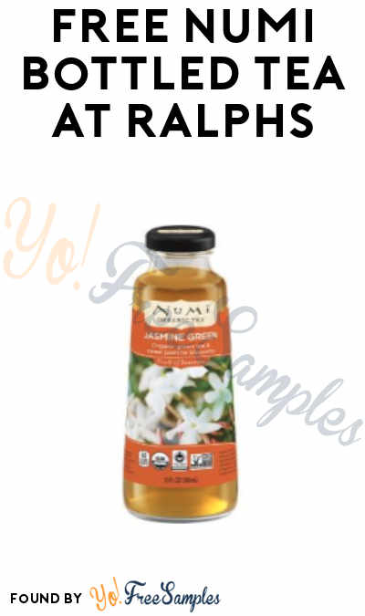 FREE Numi Bottled Tea at Ralphs (Load To Card Coupon Required)