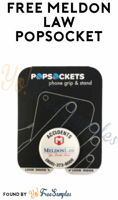 FREE Meldon Law PopSocket (Florida Only)