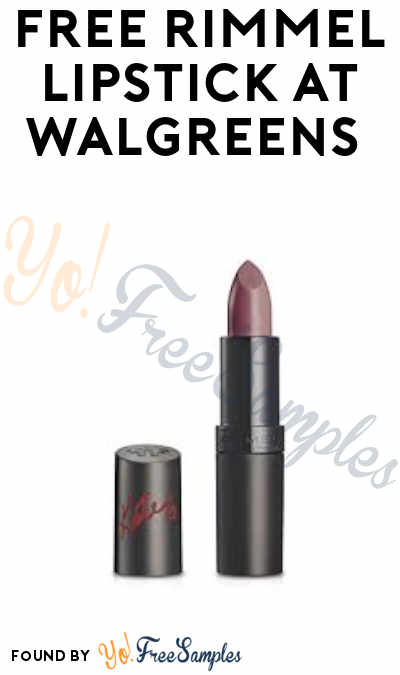 2 FREE Rimmel Lipsticks at Walgreens (Balance Rewards Card & Clearance Pricing Required)