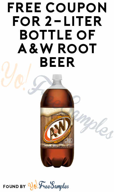 FREE A&W Root Beer 2-Liter Bottle Coupon