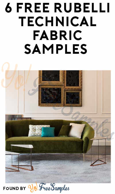 6 FREE Rubelli Technical Fabric Samples (Company Name Required)