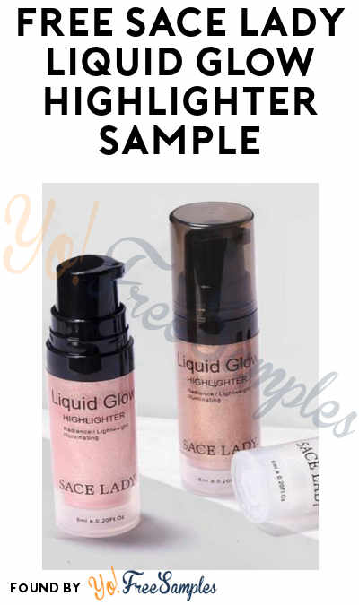 THIS IS FAKE, SEE NOTE, A FEW OTHER FAKES INVOLVED. FREE Sace Lady Liquid Glow Highlighter Sample