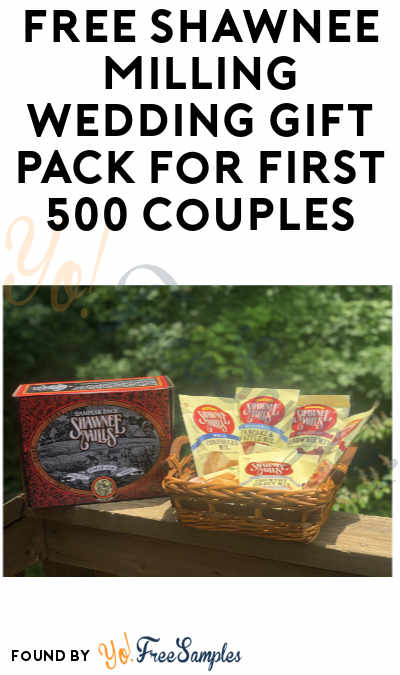 FREE Shawnee Milling Wedding Gift Pack for First 500 Couples! (Oklahoma Only)