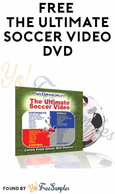 FREE The Ultimate Soccer Video DVD