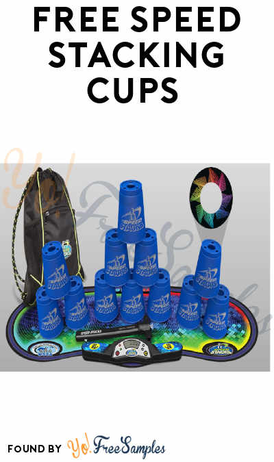 FREE Speed Stacking Cups (Teachers Only) - Yo! Free Samples
