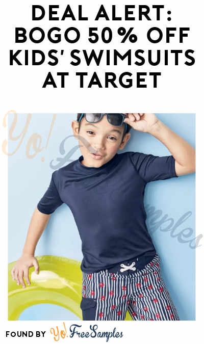 DEAL ALERT: BOGO 50% Off Kids' Swimsuits at Target