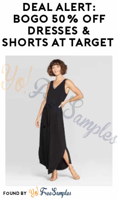 DEAL ALERT: BOGO 50% Off Dresses & Shorts for The Family at Target