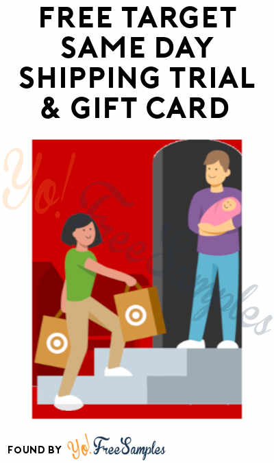 FREE Target Same-Day Shipping Trial & $15 Gift Card (Credit Card Required)