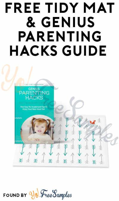FREE Tidy Mat & Genius Parenting Hacks Guide