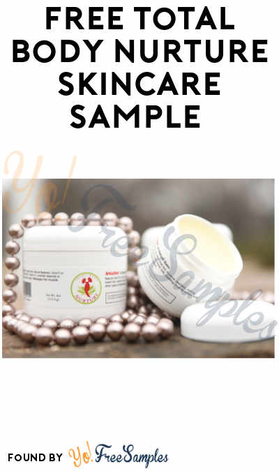 FREE Total Body Nurture All-Natural Balm Sample
