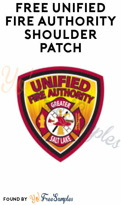 FREE Unified Fire Authority Shoulder Patch