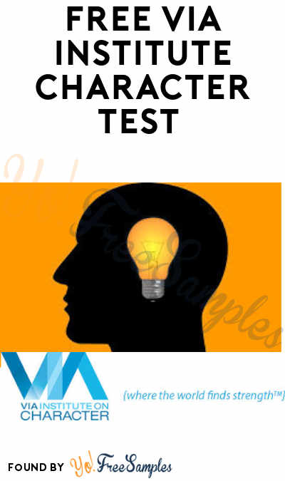 FREE VIA Institute Character Test