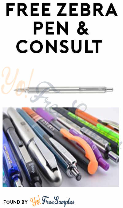 FREE Zebra Pen & Consult (Food and Beverage Company Name Required)
