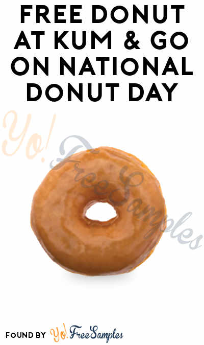FREE Donut At Kum & Go On National Donut Day
