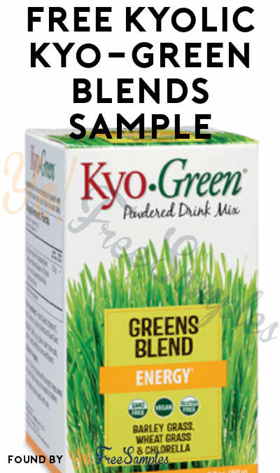 FREE Kyolic Kyo-Green Blends Sample