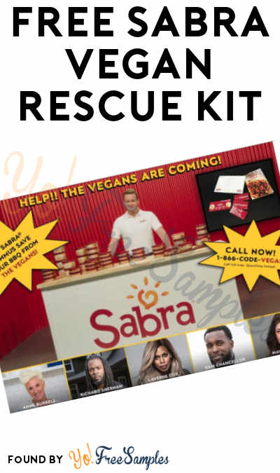 FREE Sabra Vegan Rescue Kit [Verified Received By Mail]