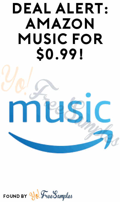 DEAL ALERT: Amazon Music 4 Months For $0.99
