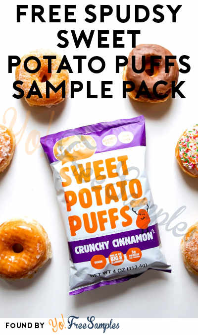 BACK IN STOCK! FREE Spudsy Sweet Potato Puffs Sample Pack