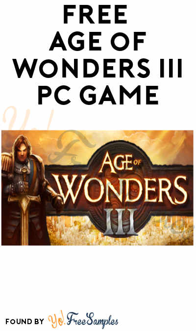 FREE Age of Wonders III PC Game (Steam Required)