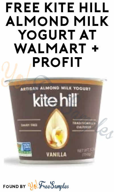 FREE Kite Hill Almond Milk Yogurt + Profit at Walmart (Ibotta Required)