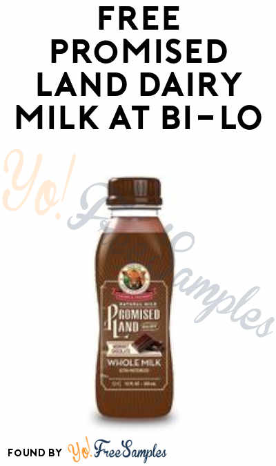 FREE Promised Land Chocolate Dairy Milk at BI-LO (Card Required)