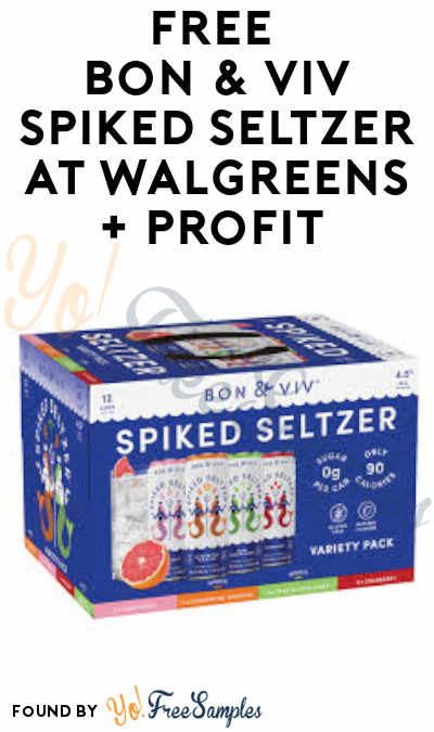 FREE Bon & Viv Spiked Seltzer at Walgreens + Profit (Ibotta Required + Ages 21 & Older)