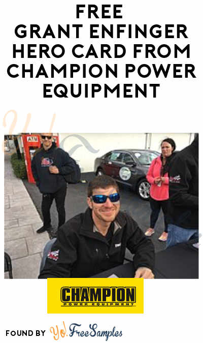 FREE Grant Enfinger Hero Card from Champion Power Equipment
