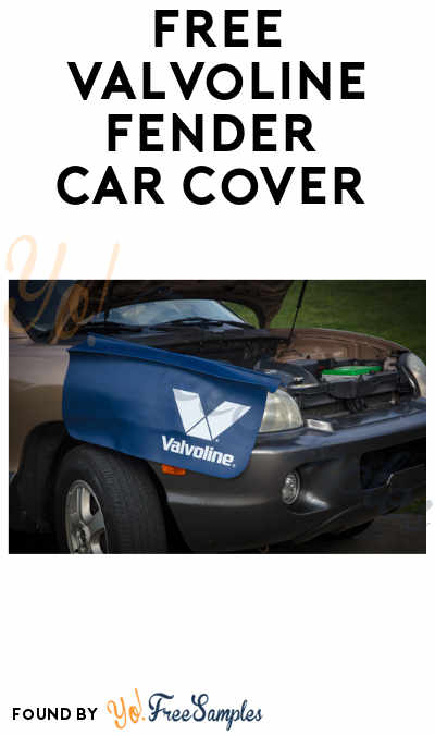FREE Valvoline Fender Car Cover (Points Required)