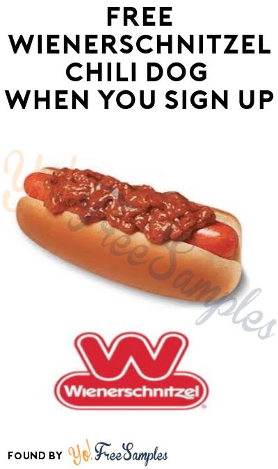 FREE Wienerschnitzel Chili Dog (Sign Up Required)