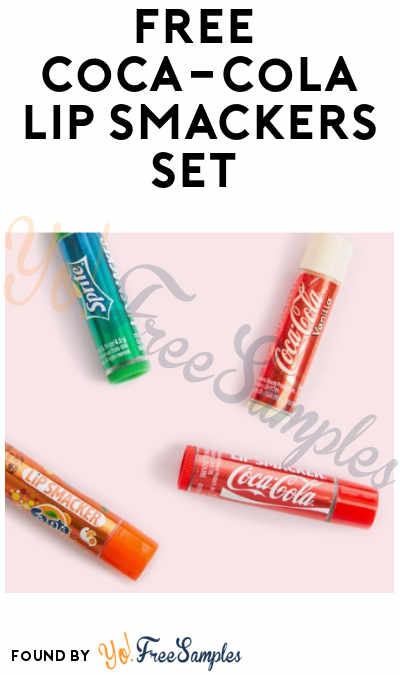 FREE Coca-Cola Lip Smackers Lipgloss Set (Product Codes Required)