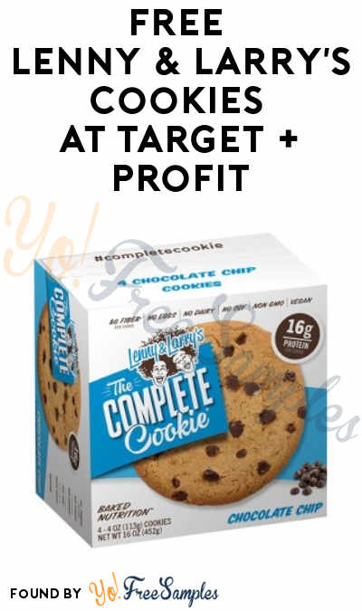 FREE Lenny & Larry's Cookies at Target + Profit (Cartwheel, Ibotta & Checkout 51 Required)
