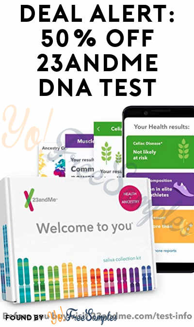 DEAL ALERT: 50% OFF 23andMe DNA Test – Get Health & Ancestry Reports With This Prime Day Deal Through 7/16 (Prime Members Only)