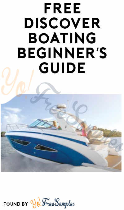 FREE Discover Boating Beginner's Guide