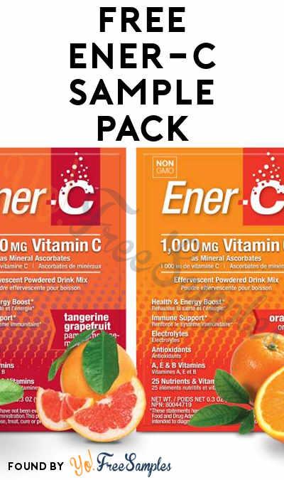 FREE Ener-C Sample Pack