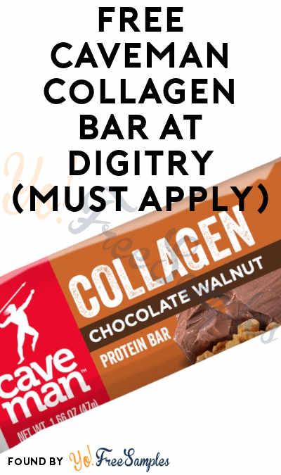 FREE Caveman Collagen Bar At Digitry (Must Apply)