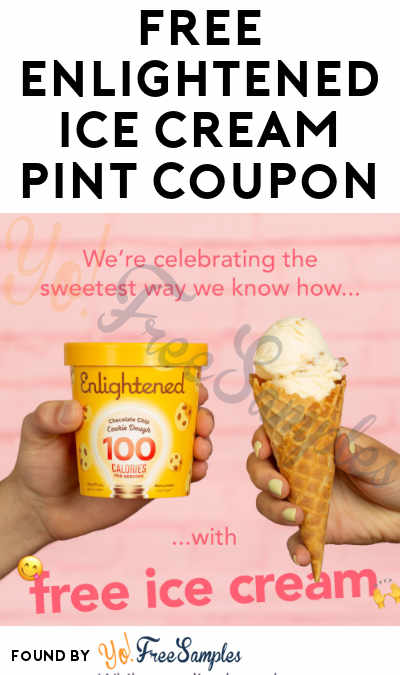 FREE Enlightened Ice Cream Pint For National Ice Cream Day
